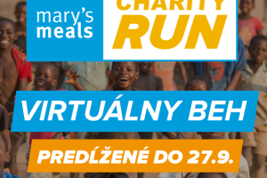 Mary's Meals Charity Run a tím Gercenka